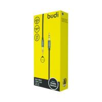 AUX Cabel Budi in silicon case, M8J127-BLK