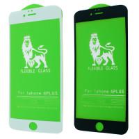 Защитное стекло Flex 5D для Iphone 6 Plus